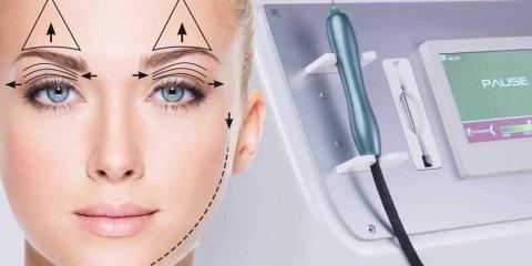 روش نقطهای و اسپری در سفت کردن پوست به کمک پلاسما